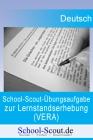 School-Scout-Übungsaufgabe zur Lernstandserhebung im Fach Deutsch, Klasse 8. Kompetenzbereiche: Sprache und Sprachgebrauch untersuchen, Leseverstehen