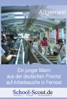 Ein junger Mann aus der deutschen Provinz auf Arbeitssuche in Fernost