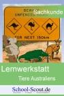 Lernwerkstatt: Tiere Australiens - Der Wombat