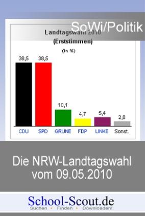 Die NRW-Landtagswahl 2010 und die rot-grüne Minderheitsregierung