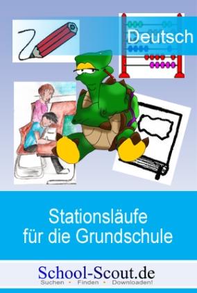 Lernen an Stationen - Aufsatztraining - Sachtexte - mit Einstein, der schlauen Schildkröte