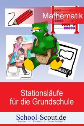 Lernen an Stationen - Zeit - mit Einstein der schlauen Schildkröte