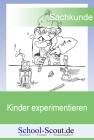 Kinder experimentieren: Das Wasser