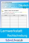 Vergrößerte Darstellung Cover: Lernwerkstatt: Rechtschreibung. Externe Website (neues Fenster)
