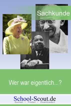 Lernwerkstatt: Wer war eigentlich...? Mahatma Gandhi