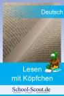 Lesen mit Köpfchen - Frühling - Klasse 3