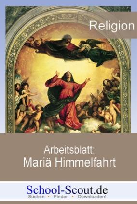 Arbeitsblatt: Mariä Himmelfahrt