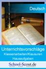 Koeppen, Wolfgang - Tauben im Gras - Unterrichtsvorschläge/Aufgabenstellungen