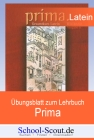 """Vergrößerte Darstellung Cover: Übungsblatt zum Lehrbuch """"Prima - Ausgabe A"""" - Lektionen 19 - 20 - Teil 2. Externe Website (neues Fenster)"""