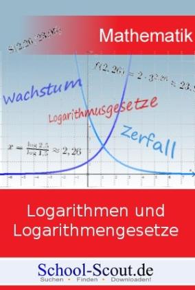 Analysis - Grundlagen der Differentialrechnung: Logarithmen und Logarithmengesetze