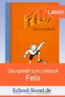 """Vergrößerte Darstellung Cover: Übungsblatt zum Lehrbuch """"Felix"""" - Lektionen 04-05. Externe Website (neues Fenster)"""