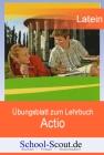 """Übungsblätter zum Lehrbuch """"Actio"""" - Teil 5: Lektionen 21 - 25"""