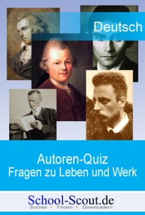 Autoren-Quiz: Leben und Werk Johann Wolfgang von Goethes