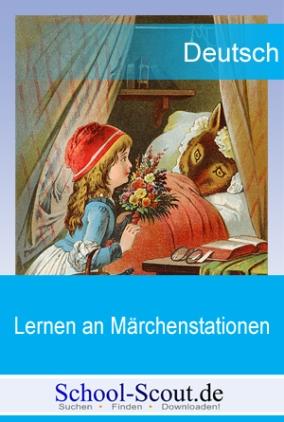 Lernen an Märchenstationen: Rotkäppchen