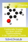 Vergrößerte Darstellung Cover: Funktionelle Gruppen und deren typische Reaktionsweisen in der Organischen Chemie. Externe Website (neues Fenster)