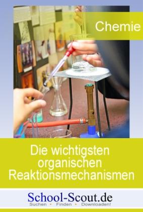 Die wichtigsten organischen Reaktionsmechanismen: Radikalische, nukleophile und elektrophile Reaktionen