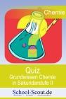 Vergrößerte Darstellung Cover: Quiz - Ankreuzfragen zum Grundwissen Chemie in Sekundarstufe II. Externe Website (neues Fenster)