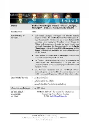 Fontane, Theodor - Irrungen, Wirrungen