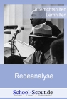 """Vergrößerte Darstellung Cover: Analyse einer Rede: Die Berliner Rede (""""Ruck-Rede"""") von Bundespräsident Herzog (26.04.1997). Externe Website (neues Fenster)"""