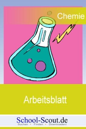 Arbeitsblatt: Formeln und Reaktionsschemen