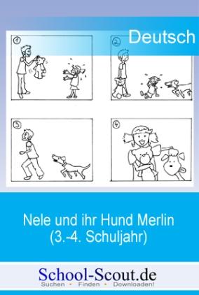 Nele und ihr Hund Merlin