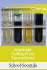 Arbeitsblatt: Stoffbegriff und Trennverfahren