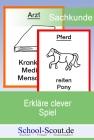 Erkläre clever - Spiel zum Thema Tiere