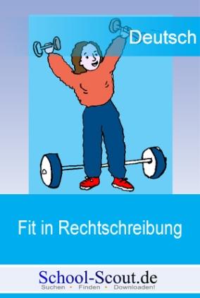 Fit in Rechtschreibung: Diktatsammlung für die Klasse 8 (Gymnasium)
