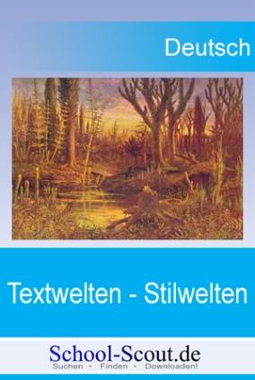 Stilanalysen zu Texten von Heinrich Heine (Harzreise), Georg Britting (Brudermord im Altwasser) und Odo Marquard (Loriot lauréat)