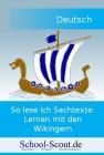 Vergrößerte Darstellung Cover: So lese ich Sachtexte: Lernen mit den Wikingern. Externe Website (neues Fenster)