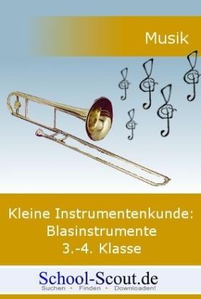Die Blasinstrumente 3.-4. Schuljahr