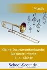 Vergrößerte Darstellung Cover: Die Blasinstrumente 3.-4. Schuljahr. Externe Website (neues Fenster)
