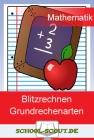 Vergrößerte Darstellung Cover: Blitzrechnen - Kopfrechnen in den Grundrechenarten. Externe Website (neues Fenster)