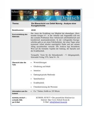 Marwig, Detlef - Die Blauschicht