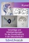 Schaffenswelten Kunst: Zeichnen mit Lyonel und Vincent - Linie, Kringel und Punkt