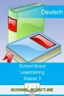Lesetraining: Lesen mit allen Sinnen, betontes Lesen - Klasse 3