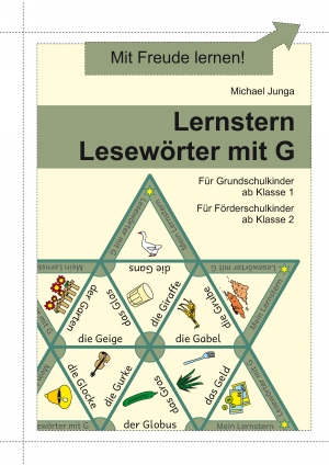 Lernstern Lesewörter mit G