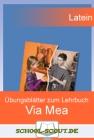 Vergrößerte Darstellung Cover: Via mea - Übungsblätter - Lektion 01 - 05. Externe Website (neues Fenster)