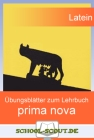 Prima nova - Übungsblätter - Lektion 31 - 35