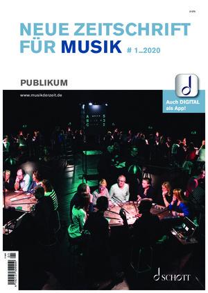 Neue Zeitschrift für Musik (01/2020)