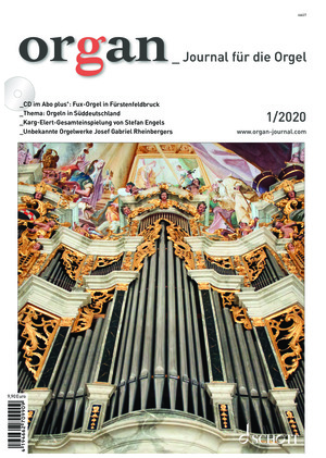 Organ - Journal für die Orgel (01/2020)