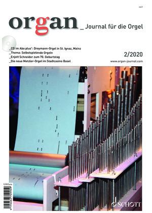 Organ - Journal für die Orgel (02/2020)
