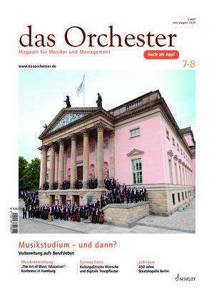 Das Orchester (07-08/2020)