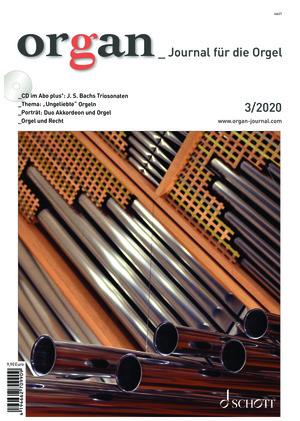 Organ - Journal für die Orgel (03/2020)