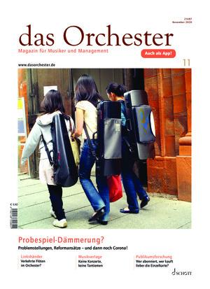 Das Orchester (11/2020)