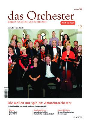 Das Orchester (12/2020)