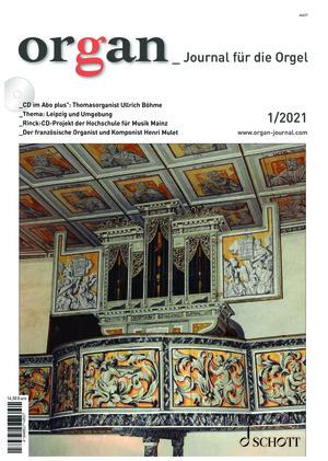 Organ - Journal für die Orgel (01/2021)