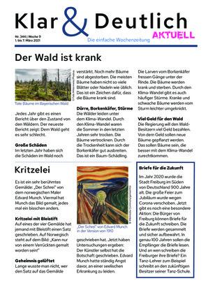 Klar & Deutlich Aktuell 344/2021 (01.03.2021)