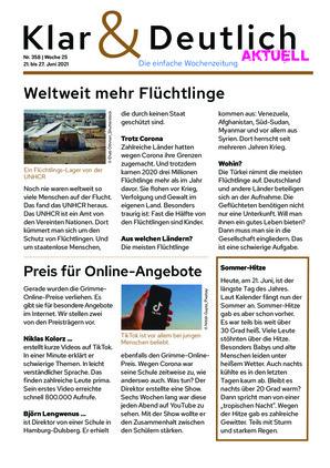 Klar & Deutlich Aktuell 358/2021 (21.06.2021)