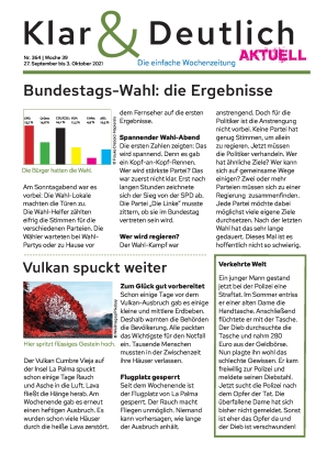 Klar & Deutlich Aktuell 364/2021 (27.09.2021)